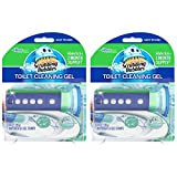 Scrubbing Bubbles Toilet Cleaning Gel Starter Kit, Glade Rainshower, 2 Pack, 6 ct, 1.34 oz