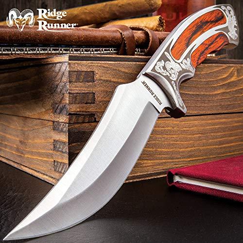 Ridge Runner Executive Wooden Fixed Blade Knife