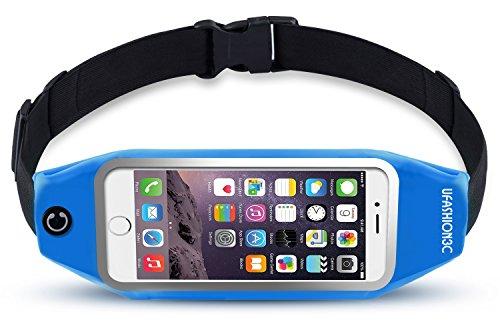 Slim Sports Belt for Samsung Galaxy Note 4 (Light Blue) - 2