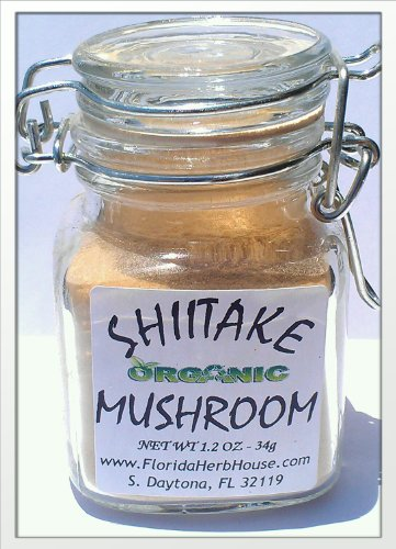 Shiitake Mushroom Powder .85 oz. (24g) - Great Eco Friendly Gift Ideas! - Eco-Spices!