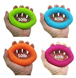 Lsgoodcare-Convenient-4-Levels-30-4050-60-lbs-Full-Set-Silicone-Exerciser-Gym-Hand-Finger-Forearm-Strengtheners-Trainer-for-Men-Excellent-Use-At-Home-In-The-Car-Or-Where-Ever-You-Are