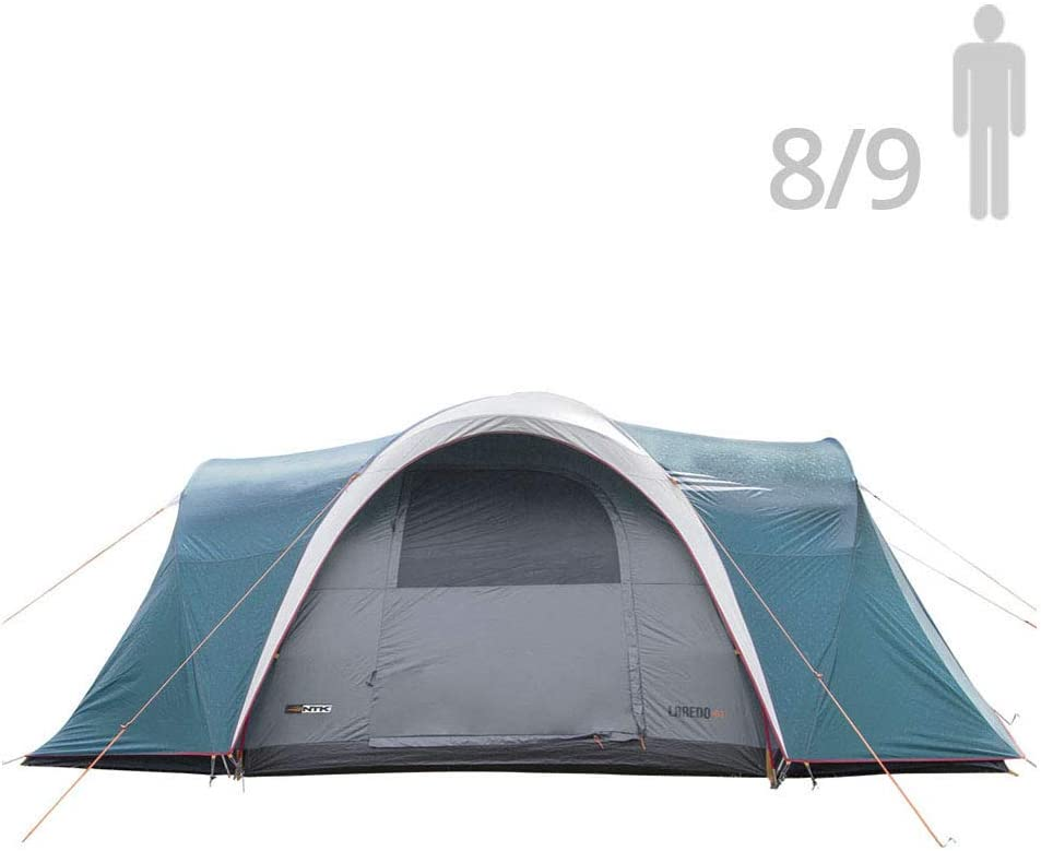 NTK Laredo GT 8 to 9 Person Sport Camping Tent image