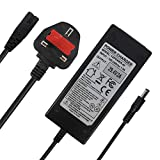 29.4V 2A Charger Power Supply Adapter for 24V 25.2V 25.9V 29.4V 7S lithium battery pack, e-Bike electric bicycle pedelec, Electric Bike batteries, with 5.5x2.1mm Round Plug