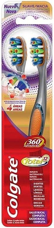 Escova Dental Colgate 360º Total 12 2unid Promo Leve 2 Pague 1