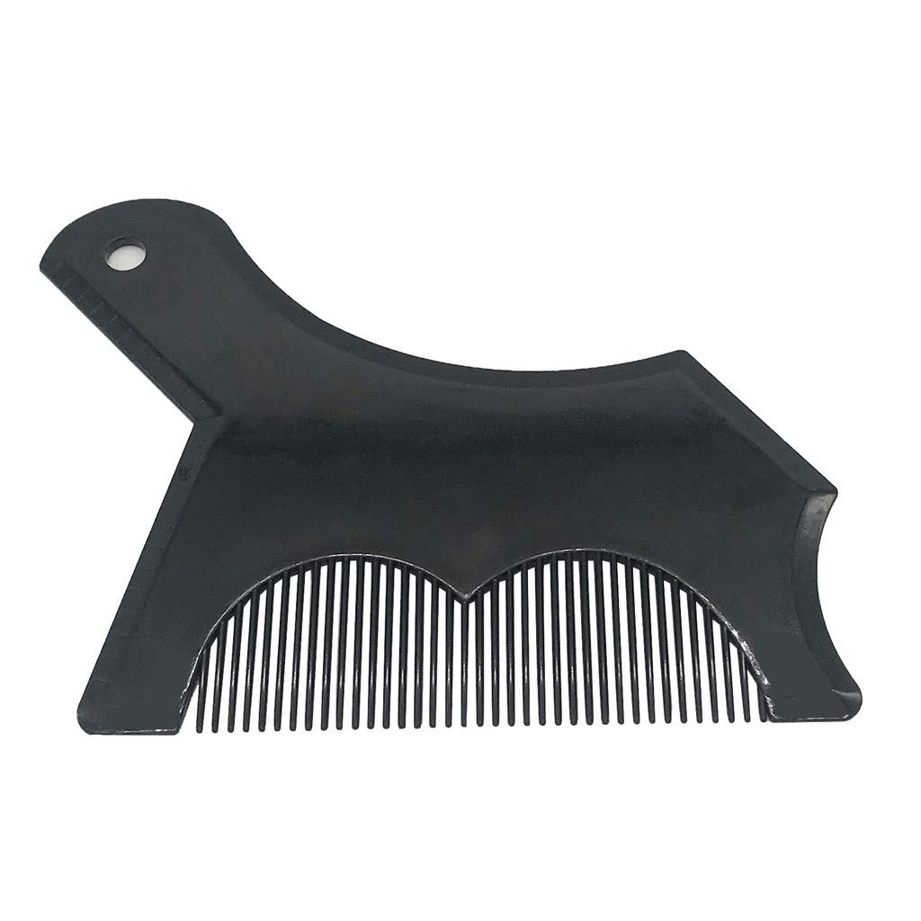 Aviat Mens Beard Shaper Styling Tool Bristle Brush Hair Comb Template Dryers Accessories Hair Styling Tool for Daily Care