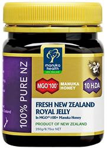 Manuka Health Fresh NZ Royal Jelly MGO 100 Plus Manuka Honey, 8.8 Ounce