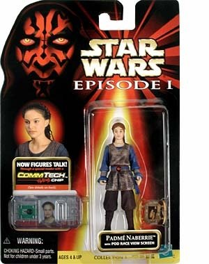 Star Wars, Episode I: The Phantom Menace, Padme Naberrie Action Figure, 3.75 Inches