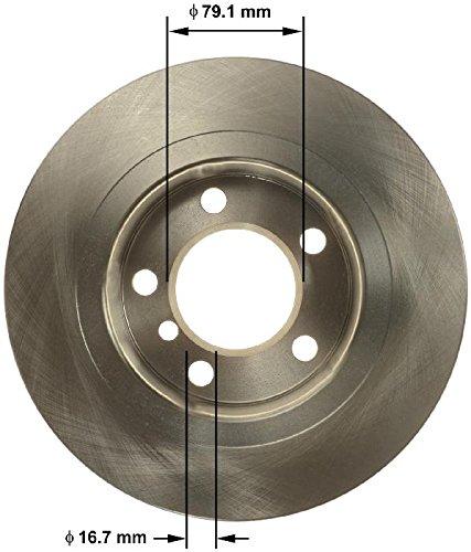 Bendix Premium Drum and Rotor PRT1726 Rear Rotor