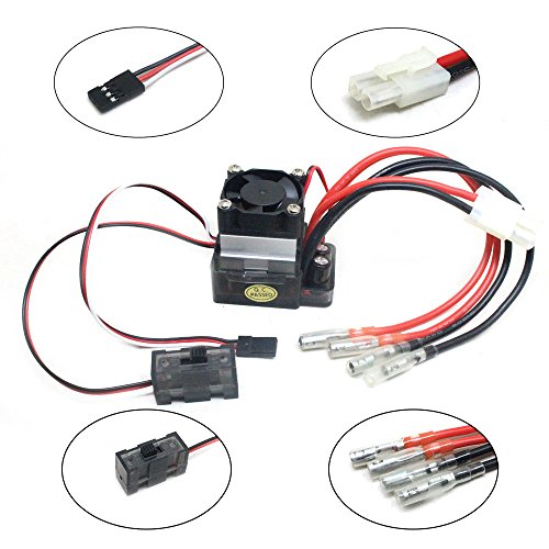 Bekia 7.2V-16V 320A High Voltage ESC Brushed Speed Controller for RC Car Truck