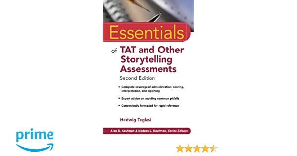 Amazon essentials of tat and other storytelling assessments amazon essentials of tat and other storytelling assessments 9780470281925 hedwig teglasi books fandeluxe Images