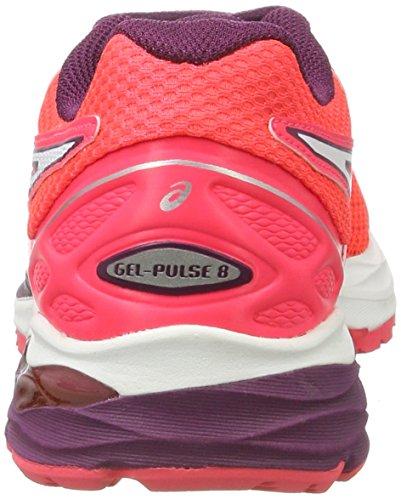 white dark Donna Corsa Asics pulse Gel diva Rosa Da 8 Pink Purple Scarpe gPwU1YvxTq