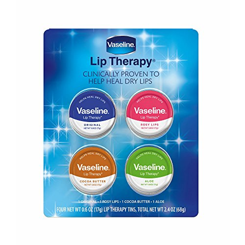 Lip Therapy Aloe (Vaseline Lip Therapy Tins, 4 pk)