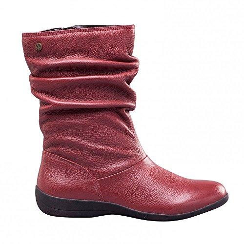 Padders - Botas de Piel para mujer Rojo rojo Rojo - rojo