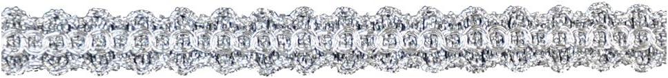 Belagio Enterprises 5//16 Metallic Trim Roll Silver