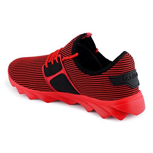 Mehrfarbig Sportschuhe Strick München Fusskleidung Herren Textil Sneaker rot 1axE5wqf
