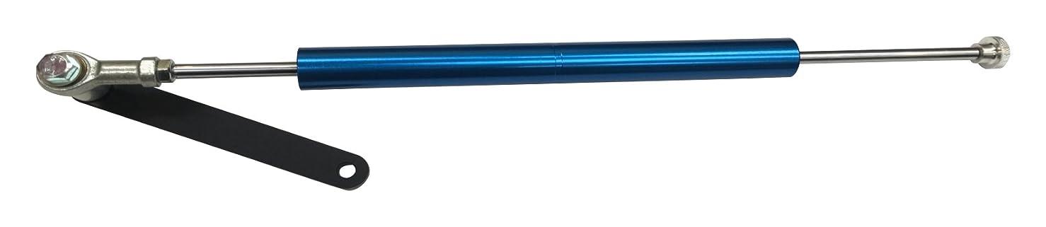 バンケット分子割るSHIFT UP (シフトアップ) ステアリングダンパーブラケットKIT 120mm [シルバー] ノーマルフォーク用 205500-53