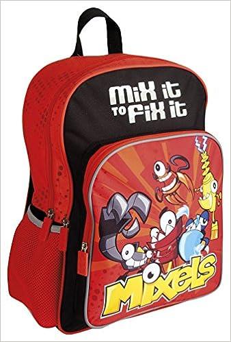 543923cb8eab Plecak szkolny MX-01 Mixels + kolorowanka  Amazon.co.uk  5901137095646   Books