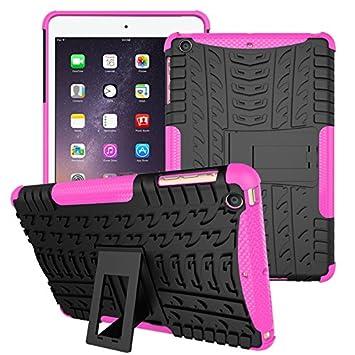iPad Mini 2 Funda, iPad Mini 3 Carcasa híbrida, Doble Capa ...
