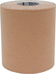 Body Sport Water Resistant Physio Tape, 3-Inch x 5 1/2-Yard, Natural