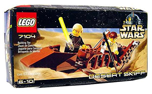 LEGO 7104 Star Wars Desert Skiff BUIL-LEGO-STAW-CLAS-7104/_DESERT/_SKIFF