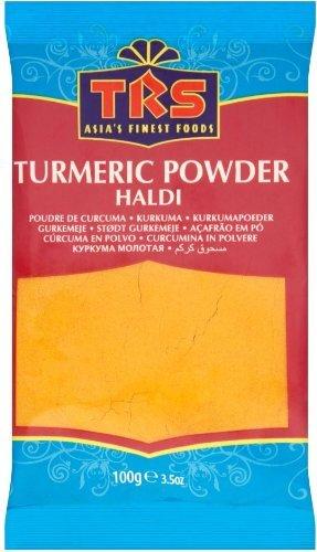 TRS Turmeric Powder / Haldi Spice -100G Bag - Brand