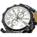 サルバトーレマーラ 腕時計 10周年記念モデル メンズ GD-SM1010-IPBKWH