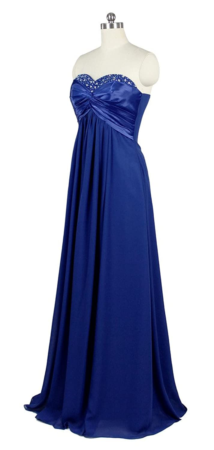 Oailiya Women's Chiffon Evening Bridesmaid Party Dress
