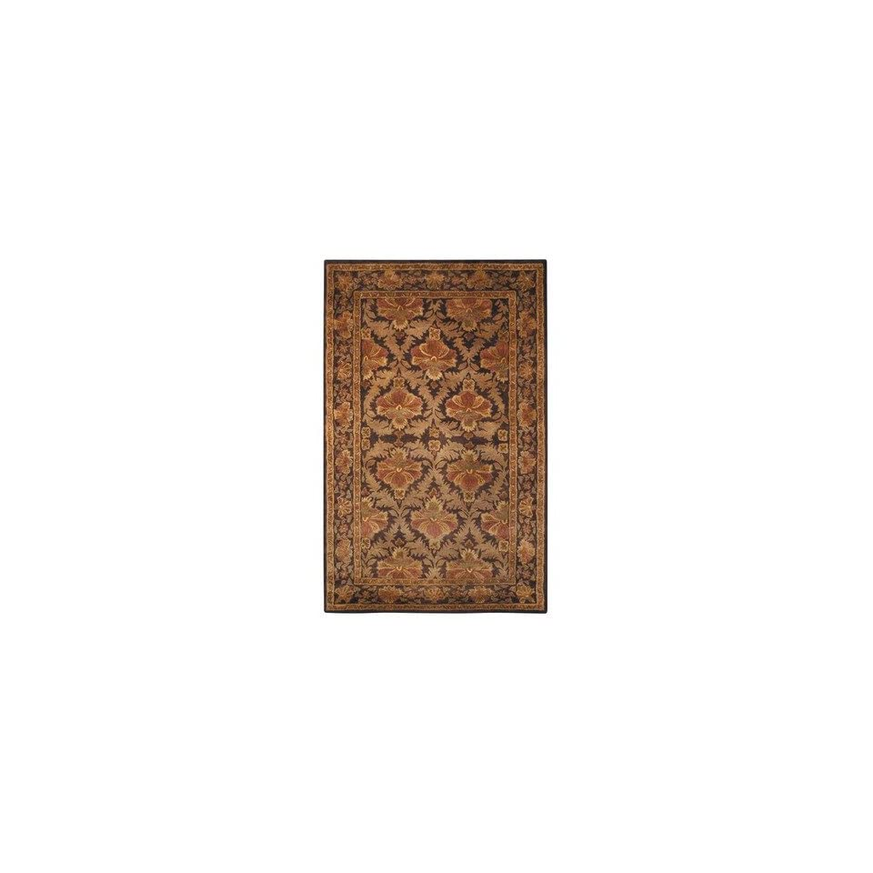 Safavieh AT54A Antiquities William Morris AT54A Wine / Gold Oriental Rug