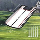 KINGTOP Golf Putting Alignment Mirror, Portable