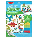 Melissa & Doug Mess Free Glitter - Adventure Foam Stickers