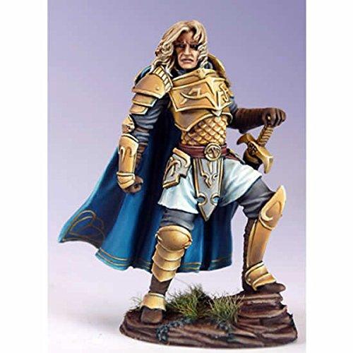 Male Warrior with Bastard Sword Miniature Visions In Fantasy Dark Sword Miniatures -
