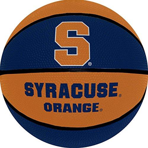 Syracuse 7 25 Inch Mini Size Rubber Basketball
