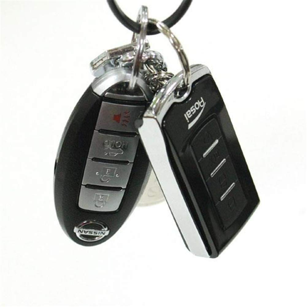 100g/0.01g Car Key Mini Digital Pocket Jewelry Scale Black & Silver by Waful