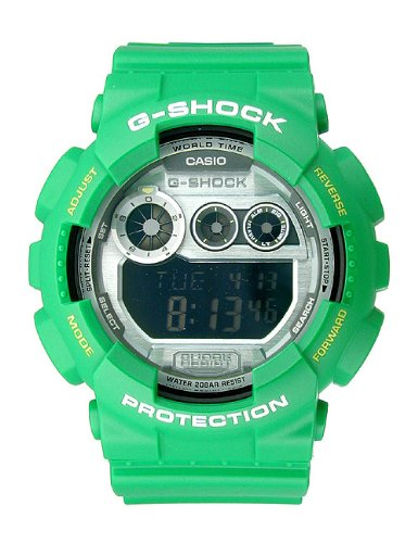 G Shock World Time Chrono Resin