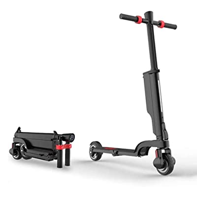 "Electric Scooter - 250W Motor 8.5"" Solid Tires Up,One-Step Fold, Adult Electric Scooter for Commute and Travel, Aluminum Alloy Body, Sensitive Brake : Sports & Outdoors"