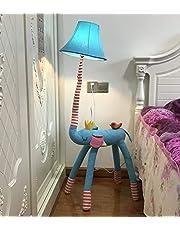 SMC Stehleuchten Kinderkamer Cartoon olifant staande lamp creatieve woonkamer studie decoratie verticale tafellamp slaapkamer moderne minimalistische nachtlampje