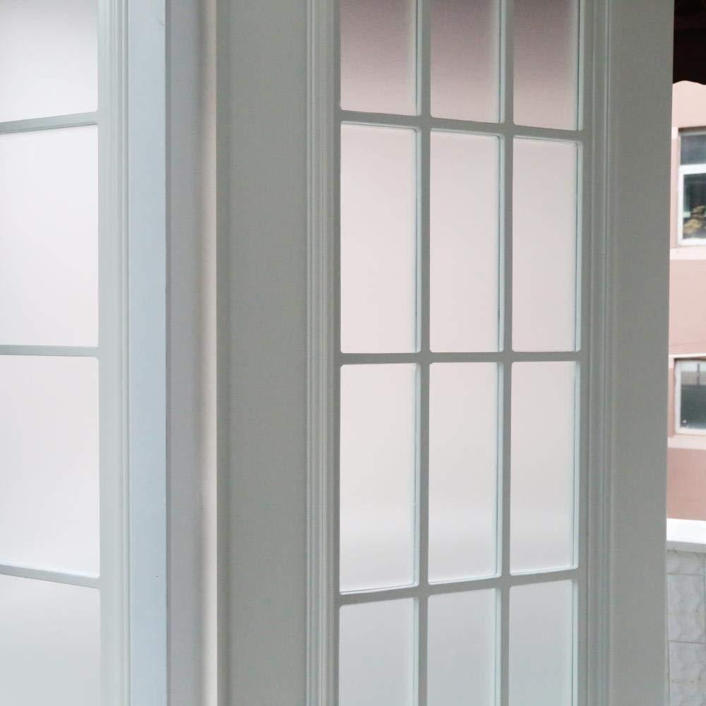 Rabbitgoo Sichtschutz Fensterfolie Statisch Dekorfolie