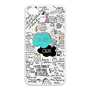 Season.C First Design Custom Funny The Fault In Our Star Hard Plastic For HTC One M9 Phone Case Cover (White)