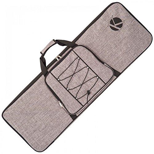 Kinsman KUEG8 Electric Ultimate Guitar Bag, Grey