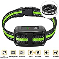PetYeah Dog Bark Collar-5 Adjustable Sensitivity and Intensity Levels-Dual Anti-Barking Modes…