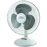 Lakewood LDF1210B-WM 12-Inch Oscillating Table Fan
