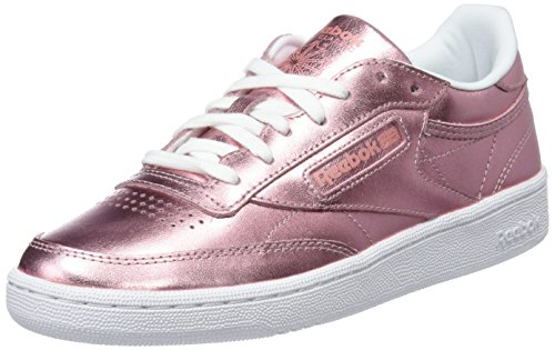 copper De Chaussures Reebok white C Club S Femme Shine Tennis 000 85 Rose X11Hvwq4xY