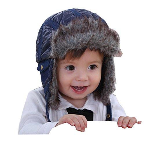 Ahatech Check Kids Unisex Impreso Cute Baby Invierno C rWCfqSr