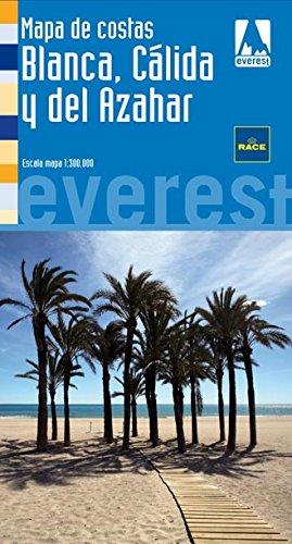 Mapa turístico de la Costa Blanca, Cálida y del Azahar Mapas de Costas de España / serie azul: Amazon.es: Cartografía Everest: Libros