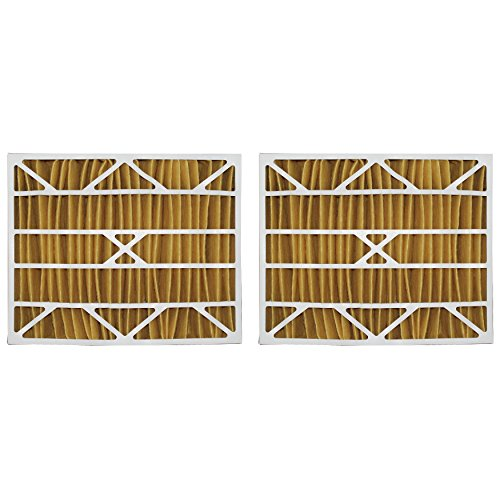 Tier1 Replacement for Aprilaire 20x25x6 Merv 11 Models 2200 and 2250 Air Filter 2 Pack