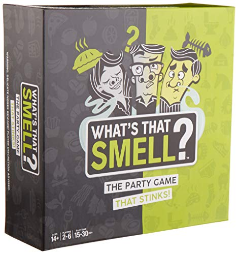 WowWee What's That Smell? The Party Game That Stinks - Scent Guessing Game For Adults & Families -