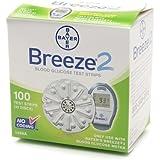 Bayer Breeze2 Test Strips Retail 100Ct