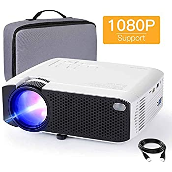 Amazon.com: Mini Projector, APEMAN 4500 Lumen 1080P ...
