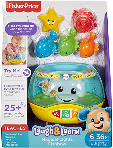 Fisher-Price Laugh & Learn Magical Lights Fishbowl by Fisher-Price (Image #4)