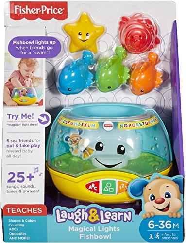 51ogWyA24qL - Fisher-Price Laugh & Learn Magical Lights Fishbowl